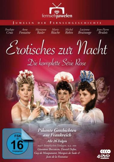 Erotisches zur Nacht ( Die komplette Série Rose). 4 DVDs