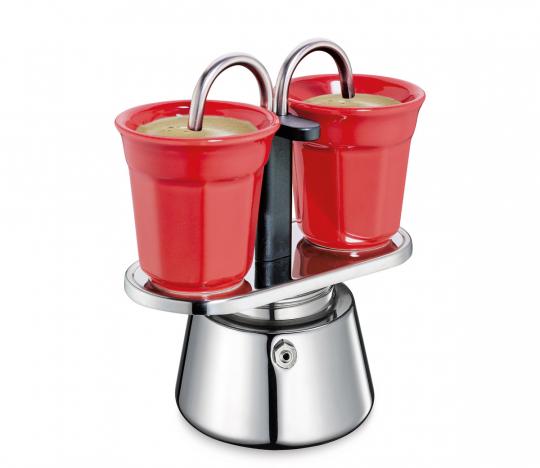 Espressokocher-Set Caffettiera.