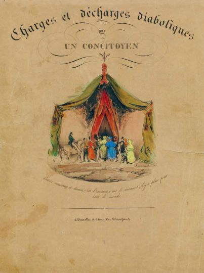 Eugène Le Poitevins. Charges et décharges diaboliques. Limitierte Ausgabe.
