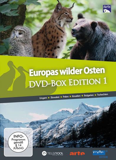 Europas Wilder Osten - Gesamt-Edition 12 DVDs