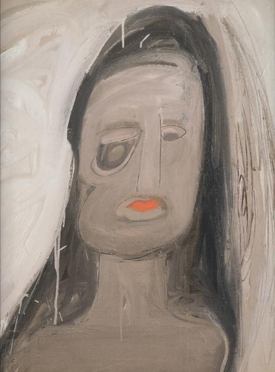 Eva Hesse Spectres 1960.