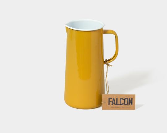 Falcon Emaille Karaffe, sonnengelb.