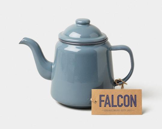 Falcon Teekanne, blaugrau.