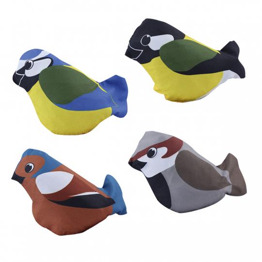 Faltbare Tasche im Vögelchen.