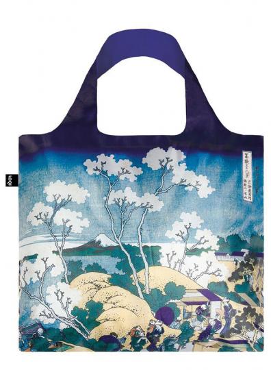 Faltbare Tragetasche Hokusai »Der Fuji von Gotenyama«.