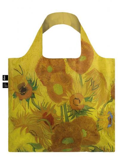 Faltbare Tragetasche van Gogh »Sonnenblumen«.