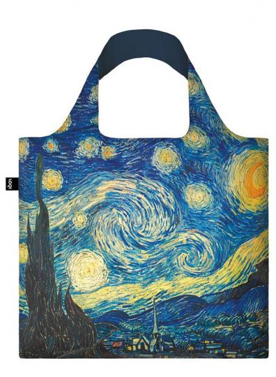 Faltbare Tragetasche van Gogh »Sternennacht«.