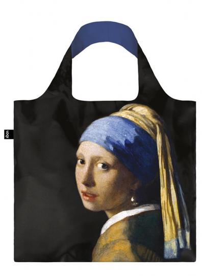 Faltbare Tragetasche Vermeer »Das Mädchen mit dem Perlenohrgehänge«.