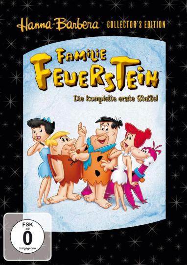 Familie Feuerstein - Staffel 1. 5 DVDs