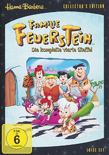 Familie Feuerstein. Staffel 4. 5 DVDs.