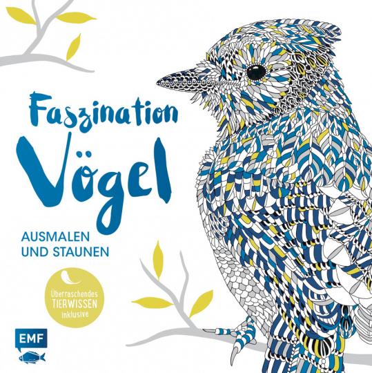 Faszination Vögel - Ausmalen und Staunen