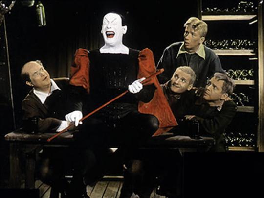 Faust I. Mitschnitt der Bühneninszenierung Hamburg 1960.