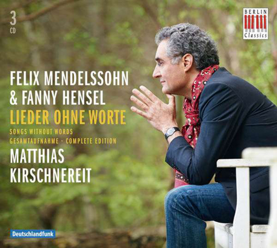 Felix Mendelssohn Bartholdy. Lieder ohne Worte. 3 CDs.