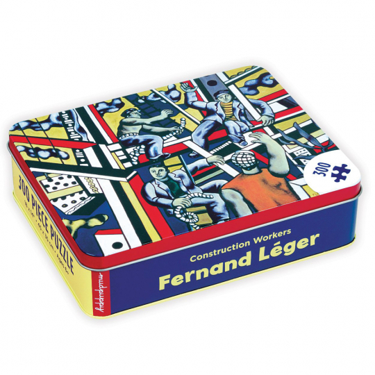 Fernand Leger Construction Workers 300 Teile Puzzle.