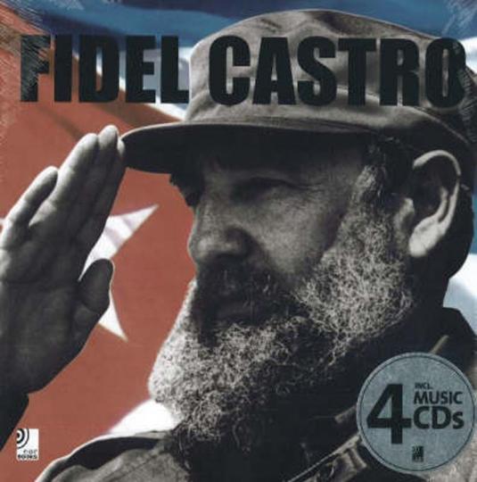 Fidel Castro. Bildband mit 4 CDs.
