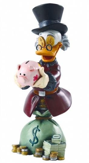 Figur Onkel Dagobert / Uncle Scrooge