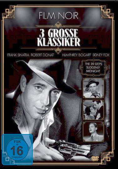 Film Noir - Drei große Klassiker. DVD.