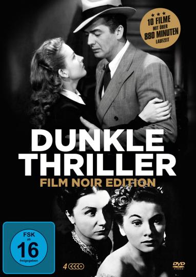 Film Noir Edition - Dunkle Thriller der Filmgeschichte. 4 DVDs.