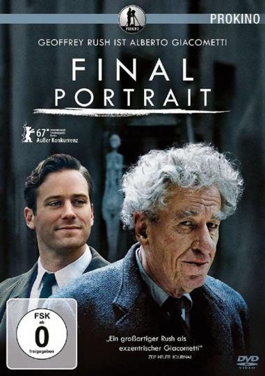 Final Portrait. DVD.