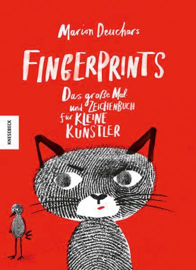 Fingerprints. Das große Mal- und Zeichenbuch für kleine Künstler.