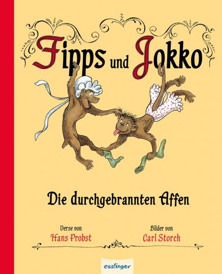 Fipps und Jokko. Die durchgebrannten Affen.