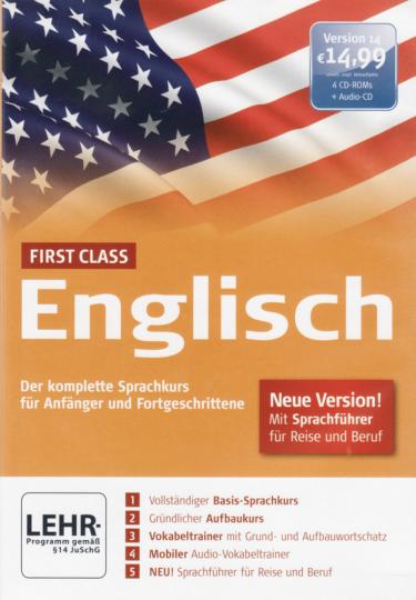 First Class Englisch 4 CD-ROMs & Audio-CD