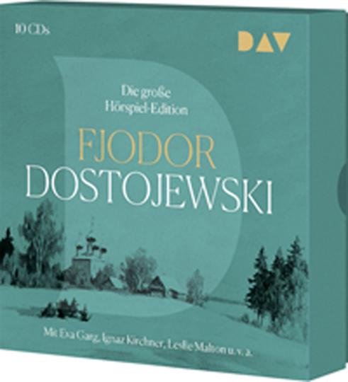 Fjodor Dostojewski. Die große Hörspiel-Edition. 10 CDs.