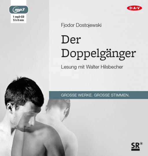 Fjodor Dostojewski. Der Doppelgänger. Hörbuch. 1 CD.