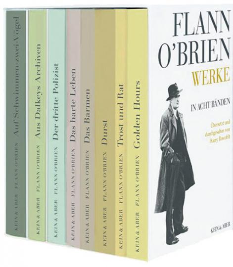 Flann O'Brien. Werke in acht Bänden.