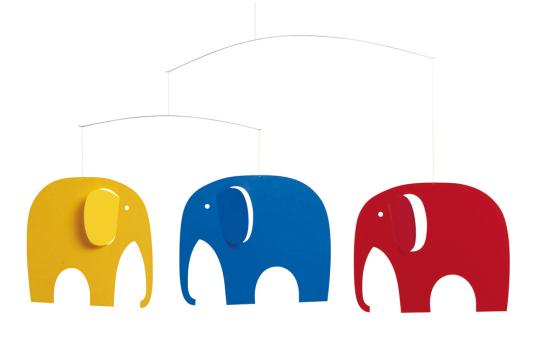 Flensted Mobile »Elefantenparty«.