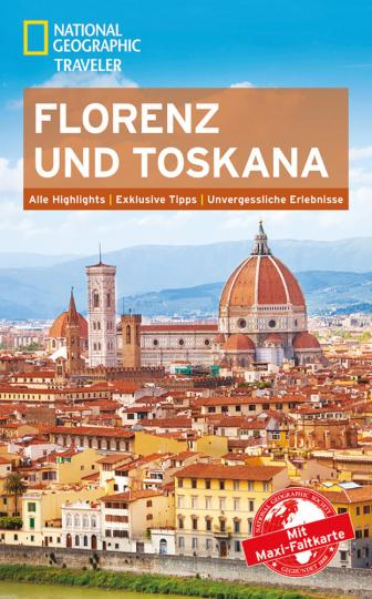 Florenz und Toskana mit Maxi-Faltkarte