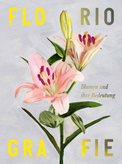 Floriografie. Blumen und ihre Bedeutung.