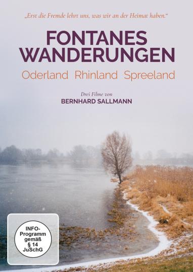 Fontanes Wanderungen. Oderland, Rhinland, Spreeland.