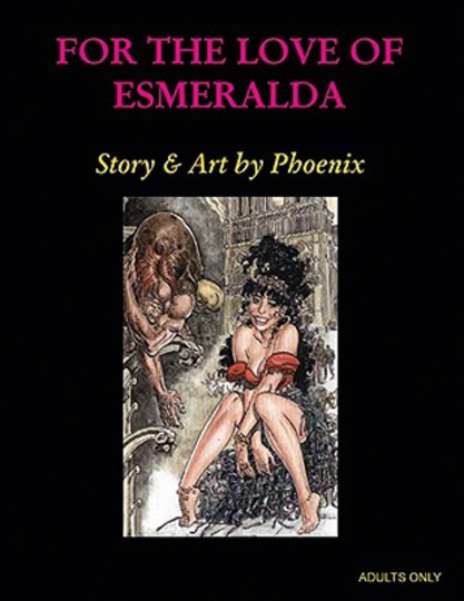 For the Love of Esmeralda. Comic.