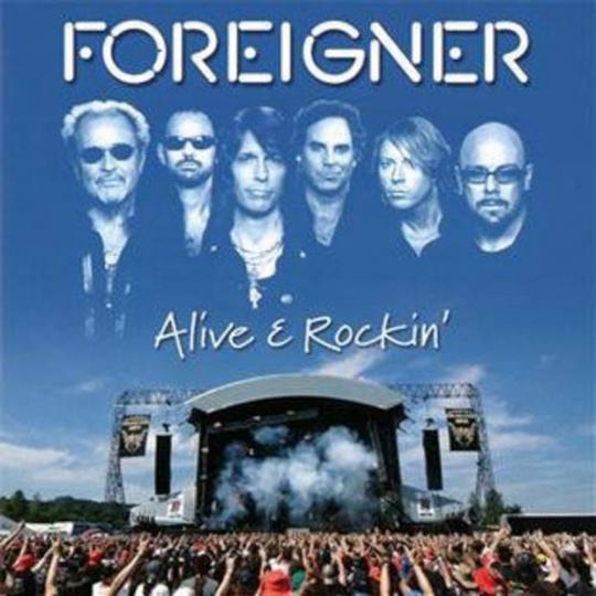 Foreigner. Alive & Rockin'. CD.