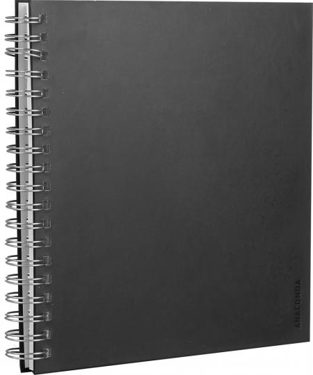 Fotoalbum. Schwarz.