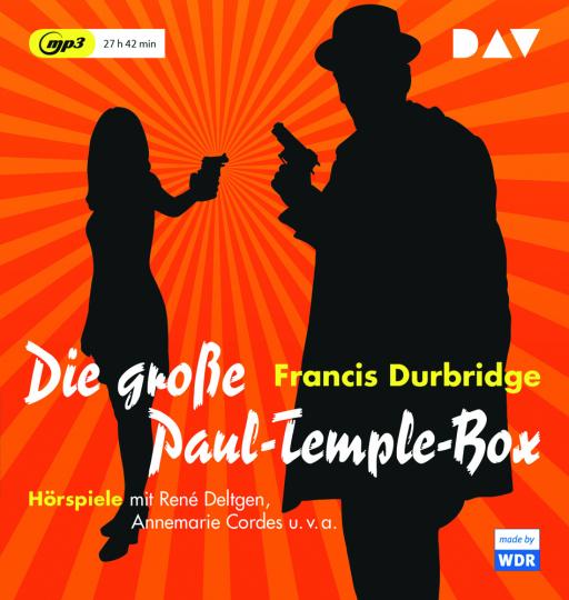 Francis Durbridge. Die große Paul Temple Box. 6 MP3-CDs.