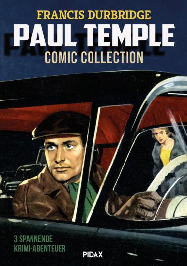 Francis Durbridge. Paul Temple Comic Collection. Graphic Novel.