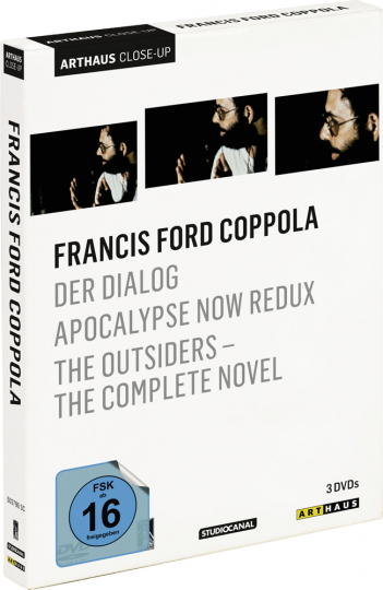 Francis Ford Coppola. Der Dialog, Apocalypse Now Redux, The Outsiders - The Complete Novel. 3 DVDs.