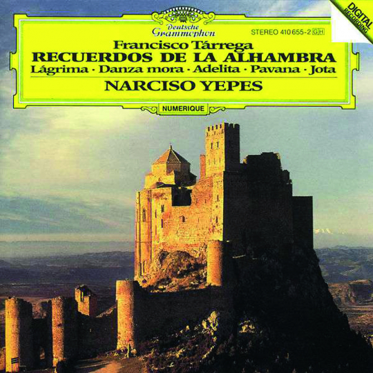Francisco Tarrega. Gitarrenwerke. CD.