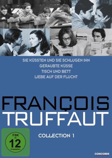 Francois Truffaut Collection 1. 4 DVDs.