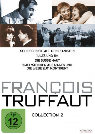 Francois Truffaut Collection 2. 4 DVDs.