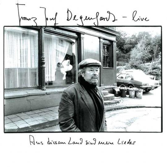Franz Josef Degenhardt. Live - Aus diesem Land sind meine Lieder. 2 CDs.