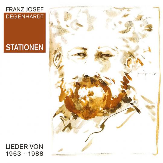 Franz Josef Degenhardt. Stationen. 2 CDs.