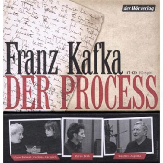 Franz Kafka. Der Process. Luxusedition. Hörspiel. 17 CDs.