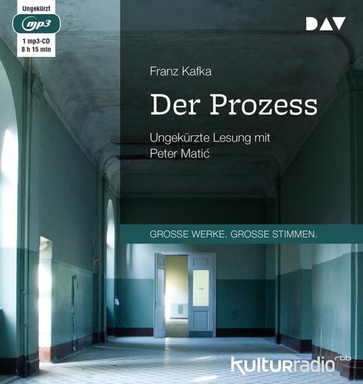 Franz Kafka. Der Prozess. mp3-CD.