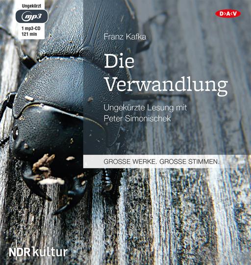Franz Kafka. Die Verwandlung. Hörbuch. 1 CD.