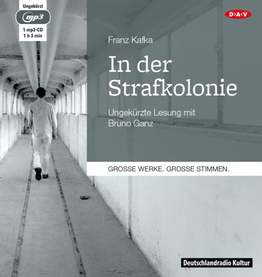 Franz Kafka. In der Strafkolonie. Hörbuch. 1 CD.