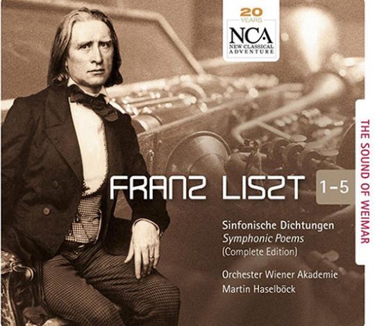 Franz Liszt - The Sound of Weimar. 5 CDs.