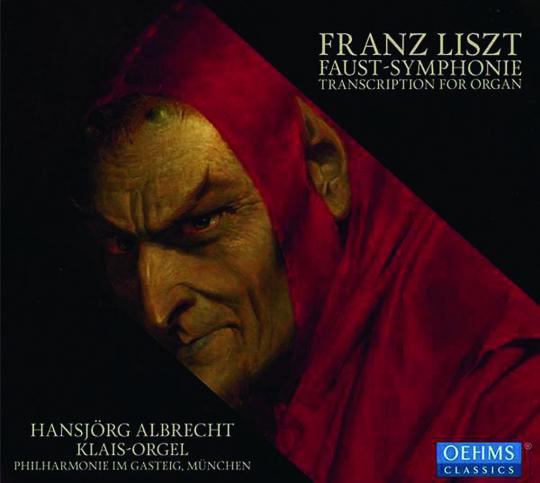 Franz Liszt. Faustsymphonie für Orgel. CD.